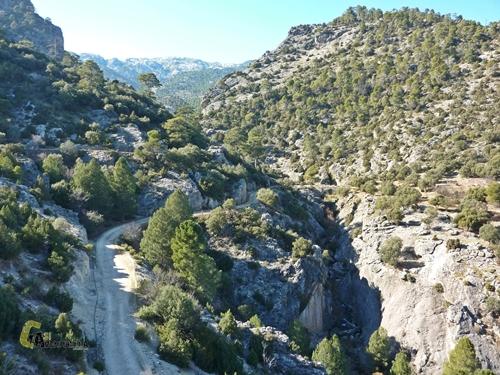 Mirador en la sierra del Pozo