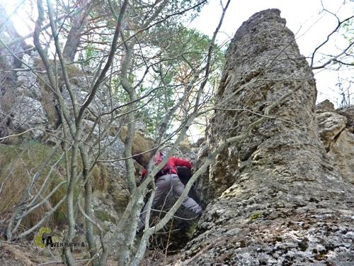 Dificultad en la montaña
