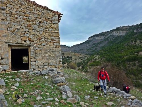 Masía en Castelvispal