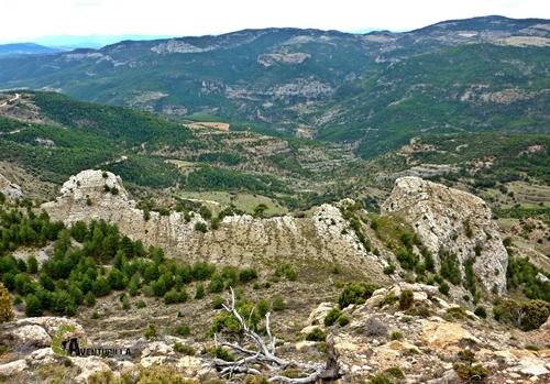 Desde la cima del Alto del Cate