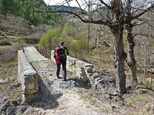 Puente en el río Linares