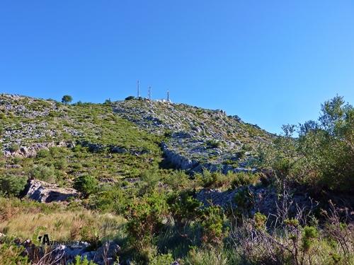 Antenas en sierra Segaria