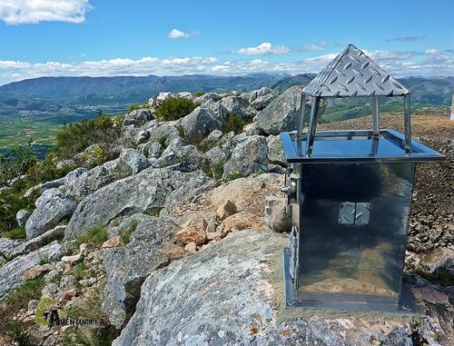 Buzon de cima en la sierra Segaria