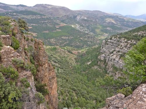 Cinglos en la sierra de Gudar