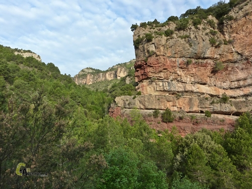Barranco en Sierra de Gudar
