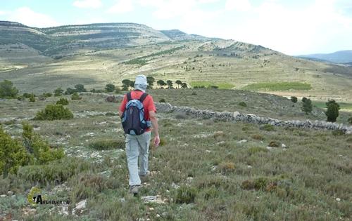 Descenso en la montaña
