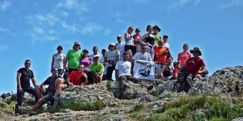 En la cima del Montcabrer