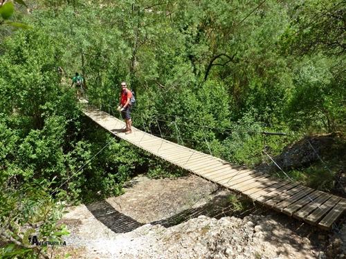 Puente sobre el río Montsant