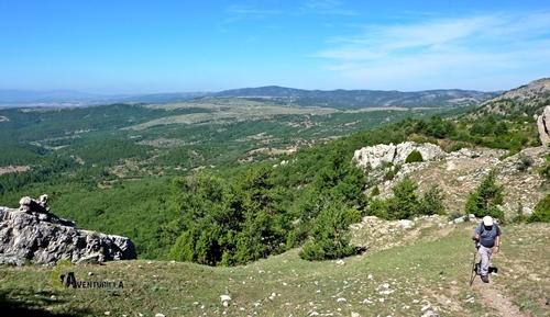Vistas en la sierra de Gudar