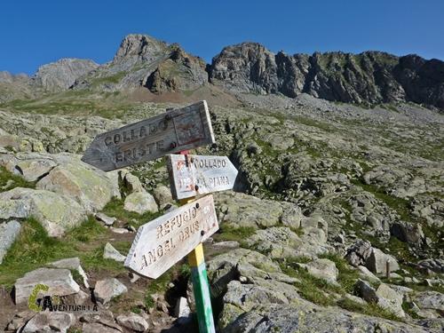 Señalización en Pirineos