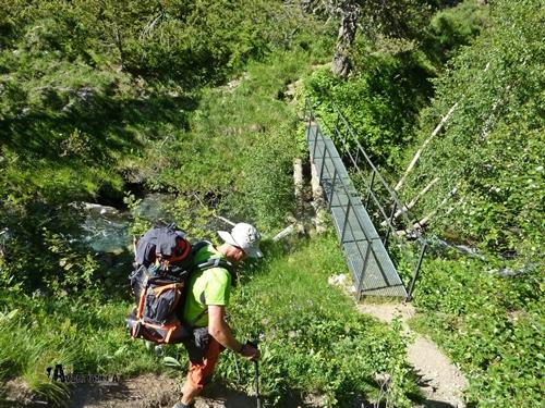 Puente cerca del refugio Estós