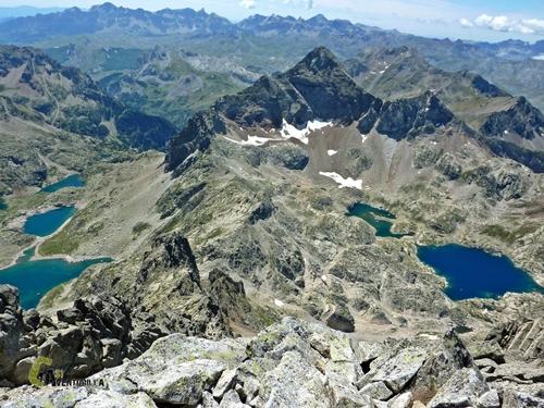 Frontera en el Pirineo