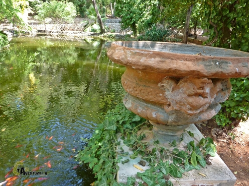 jardin del monasterio de la Murta