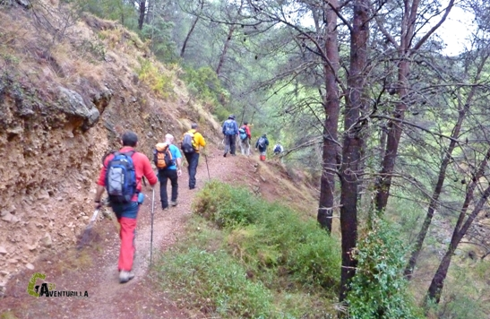 sendero de la Calderona