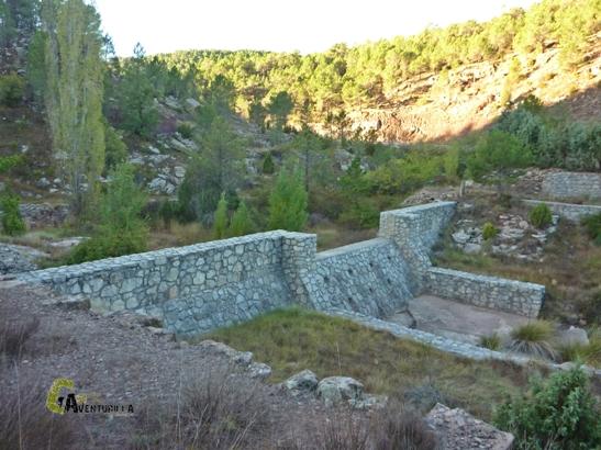 Represa en Cabra de Mora
