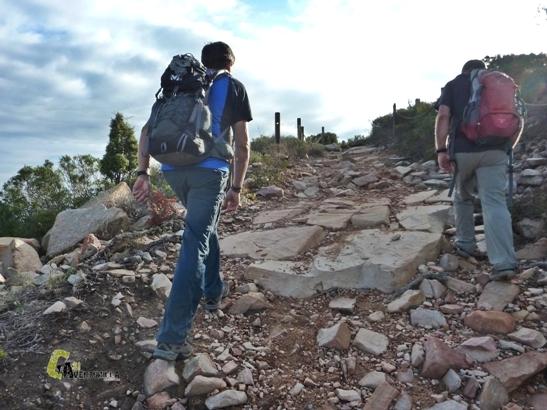 Hacia Monte Picayo