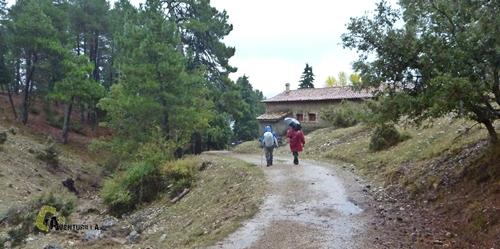 Llegando al Parador Nacional de Cazorla