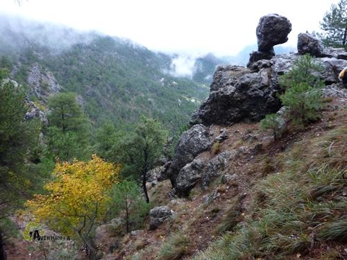 Rocas en la Sierra de Cazorla