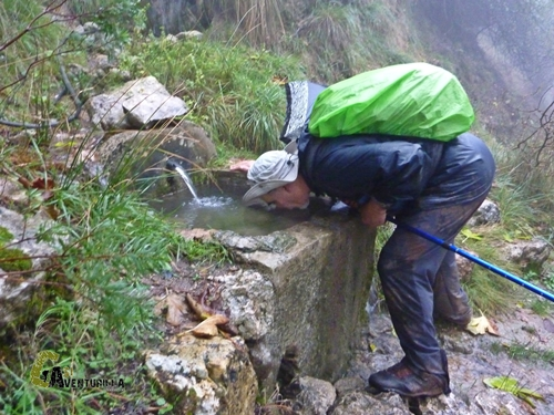 Fuente en la sierra de Cazorla