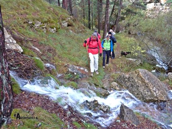 aportes de agua al curso del río Alfambra