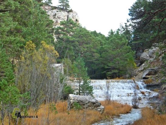 Cascada escalonada