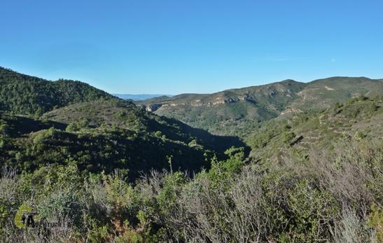 senderismo en la sierra Calderona