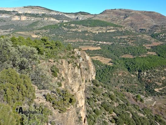 senderismo en la sierra de Gudar