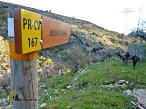 Senderismo en la Vall de Gallinera