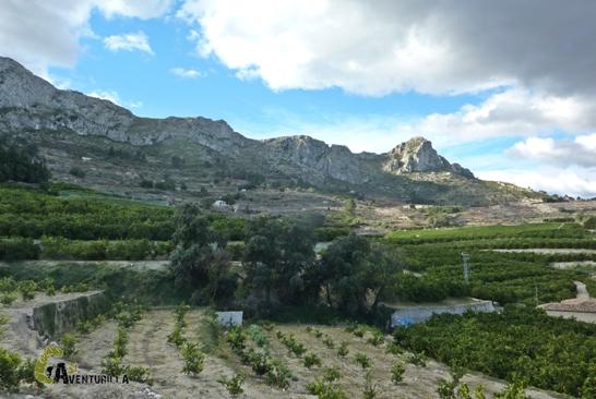 senderismo en Vall de Gallinera