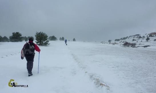 Invernal en la sierra de Gúdar