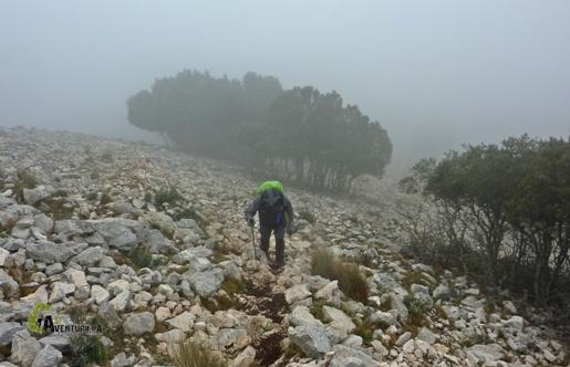 Ascensión a la Penya Alta