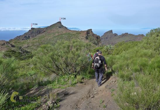 senderismo en las islas Canarias