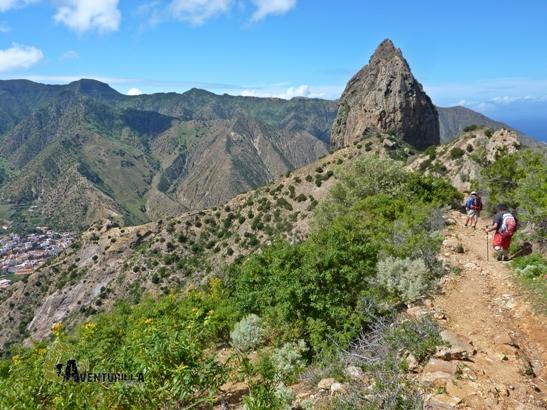 Travesía de montaña en la Gomera