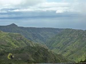 barrancos en la Gomera