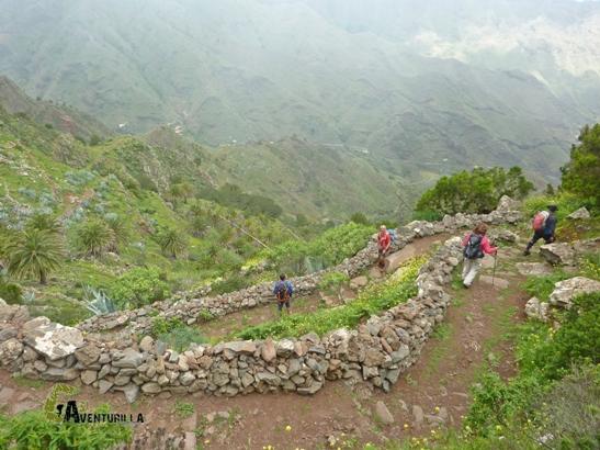 rutas por Degollada de Peraza