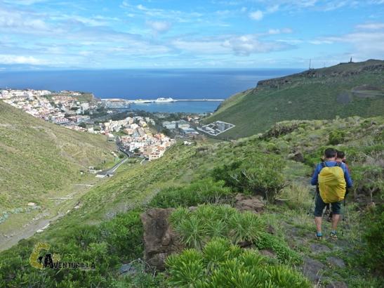 Senderismo en San Sebastian de La Gomera
