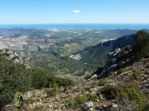 Ascenso al pico de la Safor