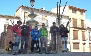 senderismo en Manzanera