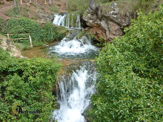 cascadas en Javalambre