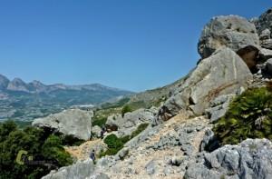 sendero señalizado de la sierra de Bernia