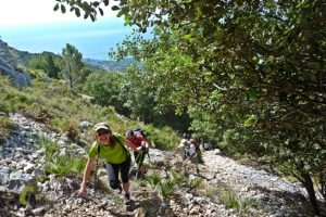 excursion en la sierra de Bernia