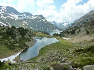 sendero de gran recorrido en pirineos