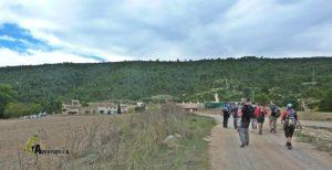 ruta desde Venta Gaeta