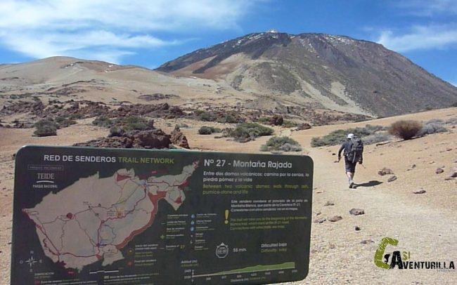 Ascensión al pico Teide