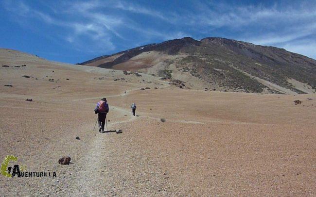 rutas por las Cañadas del Teide