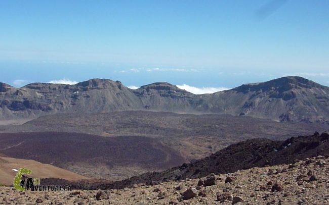 senderismo en el Parque Nacional de las Cañadas del Teide