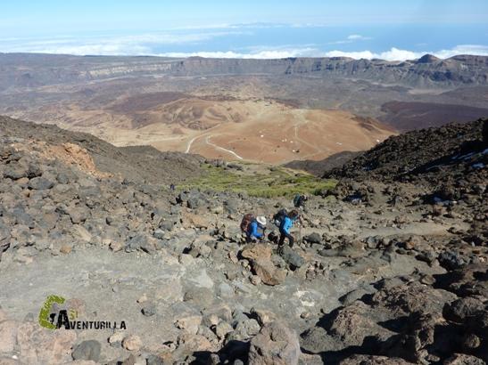 subida al pico Teide