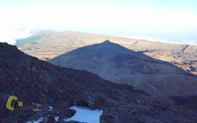 Sombra proyectada del Teide