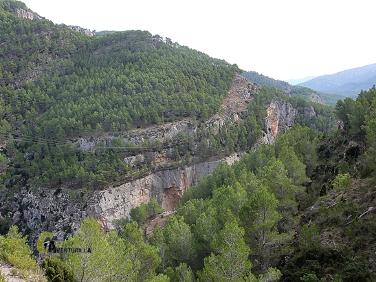 sendero de los estrechos del río Mijares