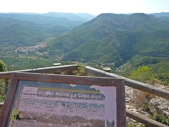 sendero del Monte La Copa